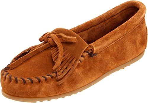 Minnetonka Shoes Suede Kilty Mocc