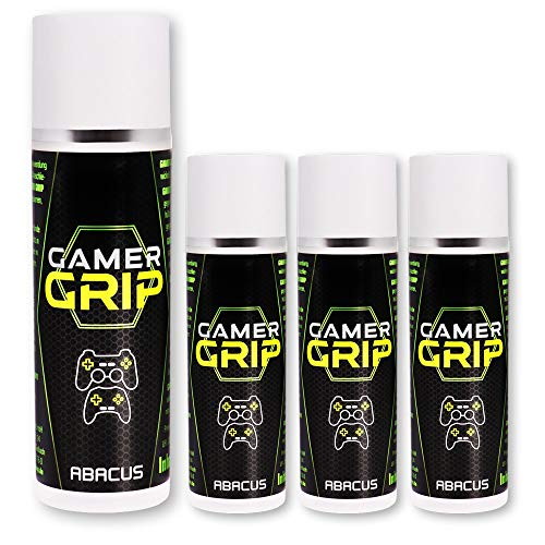 ABACUS 4X 50 ml Gamer Grip - Controller Grip Anti Rutsch Grip (7654.4)