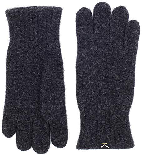 SALEWA Walk Wool Handschuhe, Carbon, L
