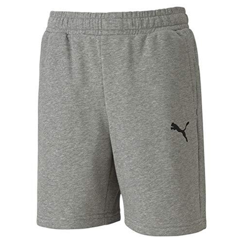 PUMA Jungen Shorts, Medium Gray Heather, 164