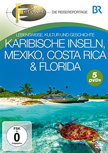 Karibische Inseln, Mexiko, Costa Rica & Florida [5 DVDs]
