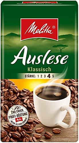 Melitta Auslese klassisch Filterkaffee 6x 500g (3000g) - Kaffee aus besten Anbaugebieten!