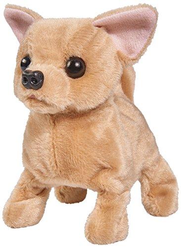 Simba 105893236 - Chi Chi Love Baby Puppy, läuft, bellt und wackelt mit dem Schwanz, 15cm, ab 3 Jahren