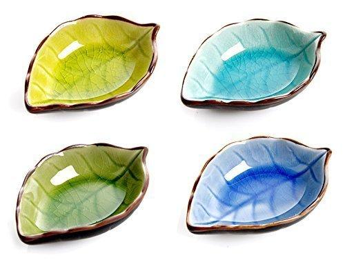 Cisixin 4 Stück Hand gefertigt Saucen Schalen