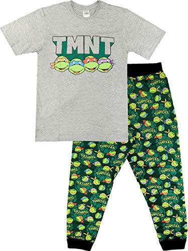 Herren-Schlafanzug-Set, offizielles Design, Größe S-XL, Teenage Mutant Ninja Turtles, M